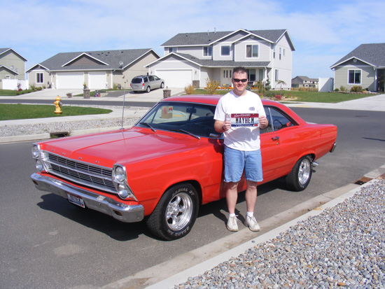 Russ's restored '66 Fairlane
